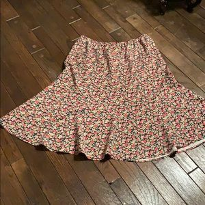 100% silk skirt by Orvis